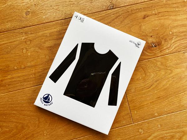 プチバトー レディース長袖TシャツXS サイズ感をレビュー