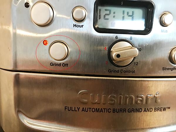 【クイジナートのコーヒーメーカー】粉でも使えるのか?