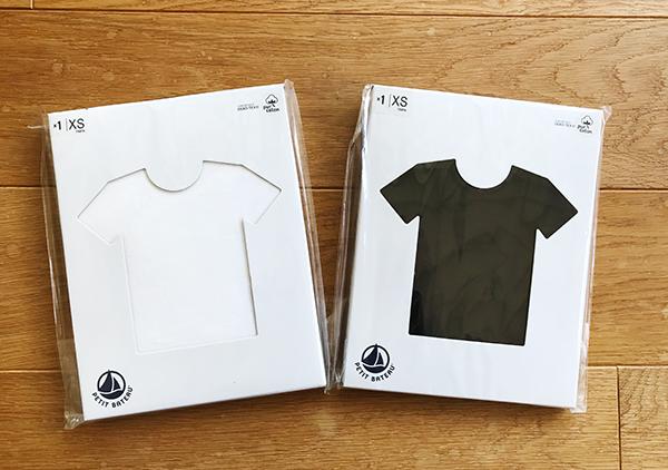 プチバトーレディースTシャツ「xs」のサイズ感