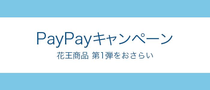 PayPayで花王商品を買うと40%戻ってくる!第1弾の付与をレビュー